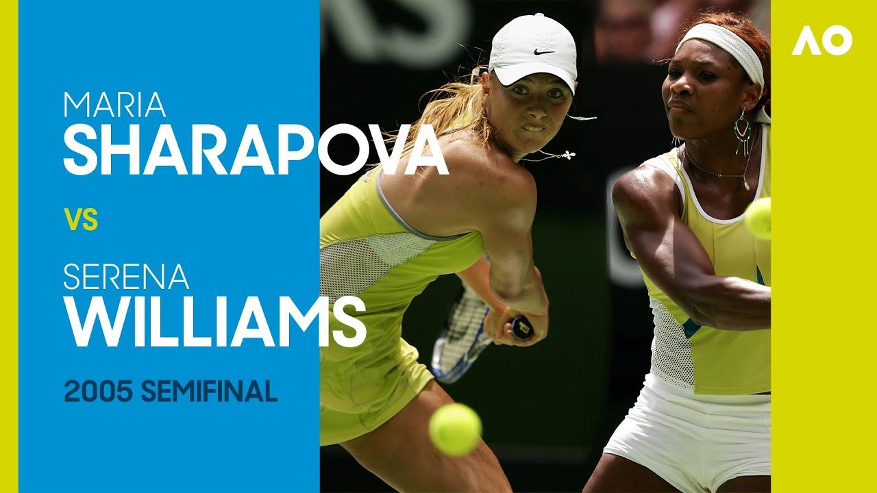 Maria Sharapova vs Serena Willams in an instant classic! | Australian Open 2005 Semifinal