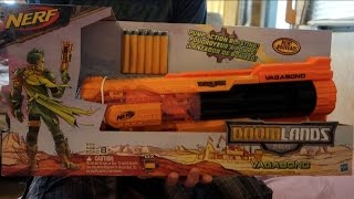Nerf Doomlands 2169 Vagabond Unboxing and Review