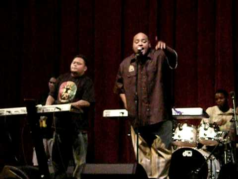 Fiji performing at ufc 94 press conference in hawaii