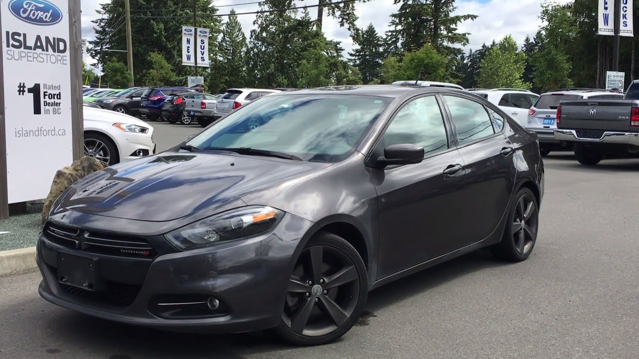 2014 dodge dart gt nav moonroof review island ford youtube. Black Bedroom Furniture Sets. Home Design Ideas