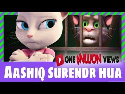 Aashiq Surrender Hua Chipmunk in  Talking Tom Animation  - Jaypee LAzeraTe - (full lyrics)
