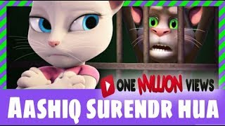 Aashiq Surrender Hua Chipmunk in |Talking Tom Animation| - Jaypee LAzeraTe - (full lyrics)