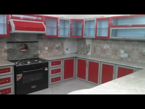 aluminium kitchen cabinets in karachi  YouTube