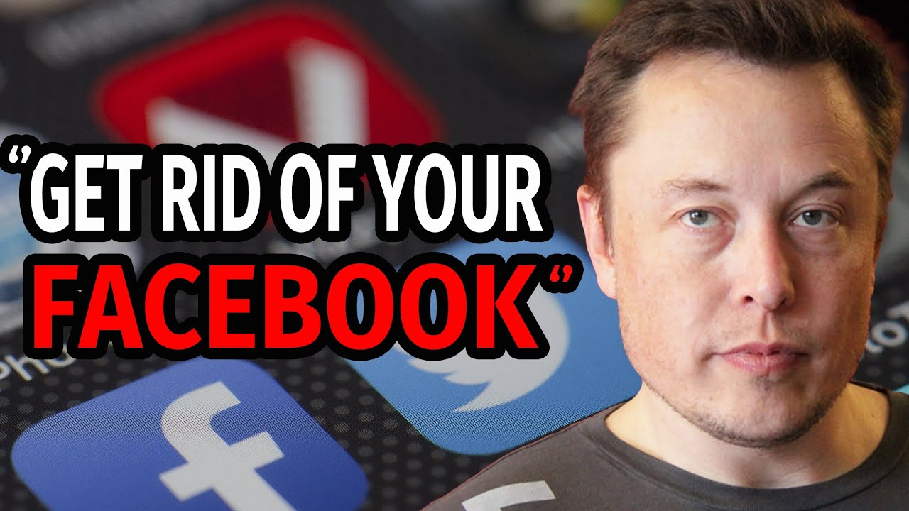 """Elon Musk: """"Delete Your Facebook and Use The Alternative Instead"""""""
