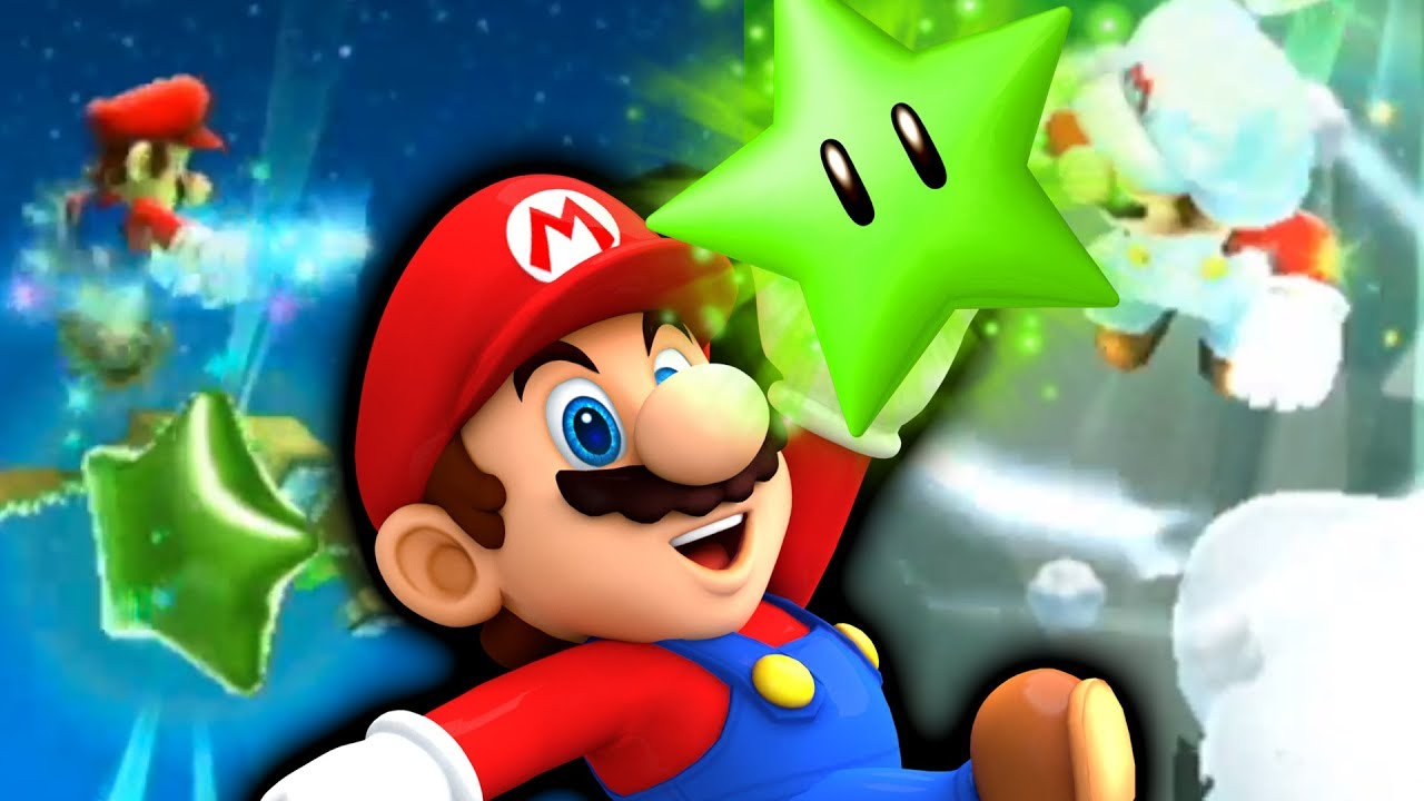 Mario Galaxy 2 with NEW Green Stars!