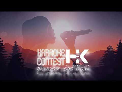 [UC Berkeley HKSA] Karaoke Contest Animation Graphic