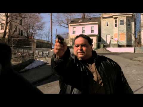 The Sopranos - Jackie Jr gets Whacked