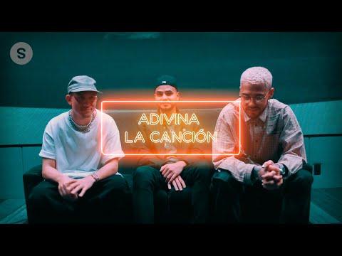 Adivina la canción con Tainy, Dalex y Alvarito Díaz | Slang
