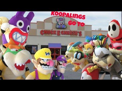 Koopalings go to Chuck e cheese