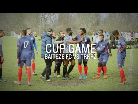 HEATED CUP MATCH!   INSULTS, TACKLES AND GOALS!   BAITEZE FC