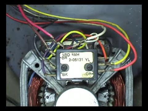 Kenmore Elite Dryer Wiring Diagram 12 Volt Trailer 2 Speed Motor Testing Maytag Belts Top Load Washers - Youtube