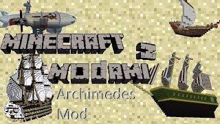 Minecraft z Modami #57 - Archimedes Ships mod