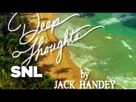 Deep Thoughts: Impressions - Saturday Night Live