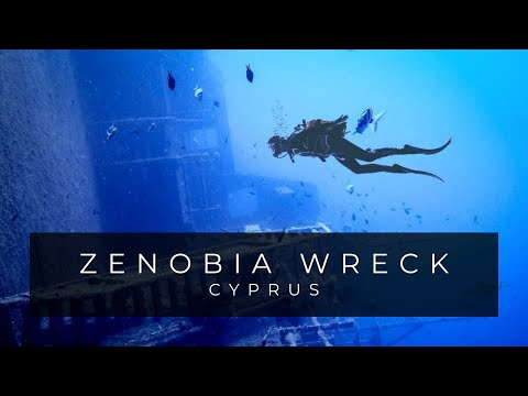 Zenobia Wreck Dive with Penetration Cyprus Diving Adventures 2015 HD Go pro Hero 3 PADI Advanced
