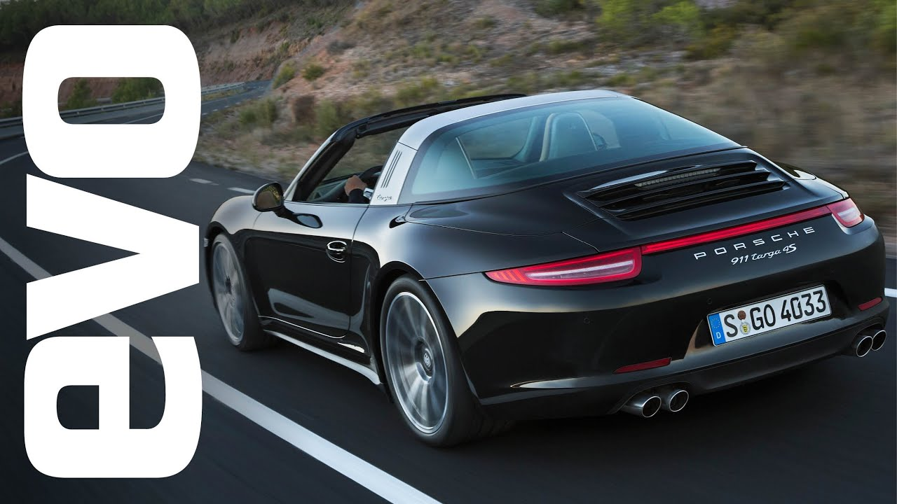 porsche 911 targa 4s review with tiff needell evo reviews youtube