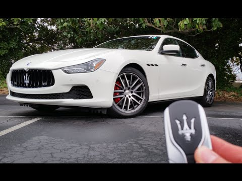 2016 Maserati Ghibli S Q4: Start Up, Exhaust, Test Drive and Review