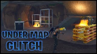 Fortnite Glitches: Under Map Glitch Spots *STILL WORKING*