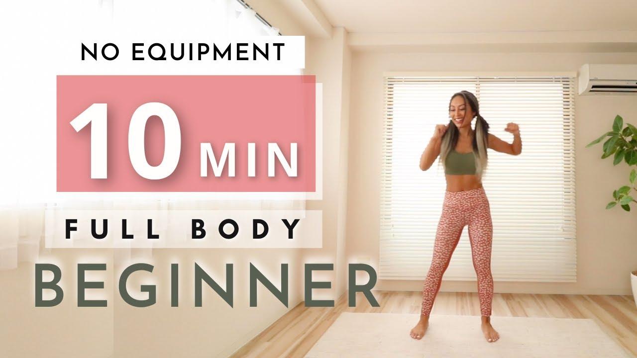 【超運動不足向け】痩せる体作り/毎日10分🐣(脚・腹筋・背中・腕)