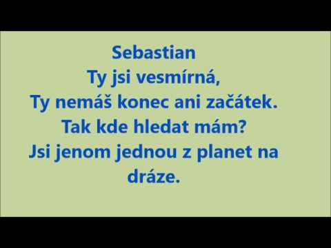 SEBASTIAN ft.ATMO music-Vesmírná TEXT
