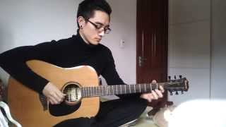 [TEST GUITAR ]Happy New Year Solo Guitar - Minh Đức