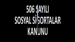BES - SGK GÖREVDE YÜKSELME VE UNVAN DEĞİŞİKLİĞİ SINAVI EĞİTİMİ (506 SAYILI KANUN).mp3