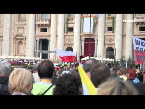 Beatyfikacja Jana Pawła II - pielgrzymka franciszkańska