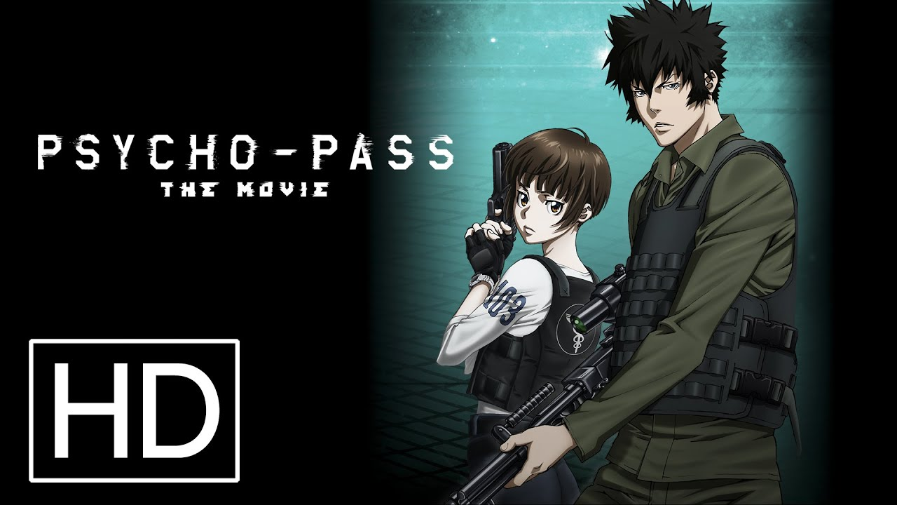 Psycho Pass The Movie Official Trailer Youtube