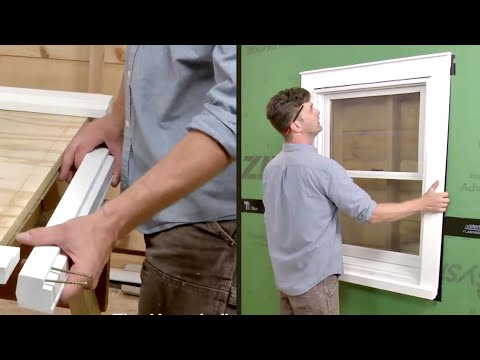 How To Install Exterior Window Trim Youtube