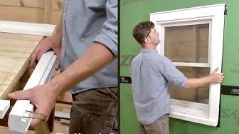 How to Install Exterior Window Trim