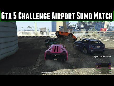 FailRace Gta 5 Challenge Airport Sumo Match
