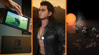 Nintendo Switch: No Virtual Console at Launch + FFXV Updates LEAKED + 7 New Earths Found? - The Know
