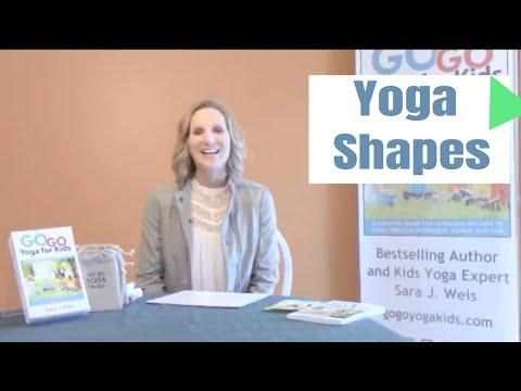 Yoga Shapes: Kids Yoga Game for Children