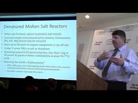 David LeBlanc -  Denatured Molten Salt Reactors @ TEAC5