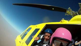 My first heli jump!!