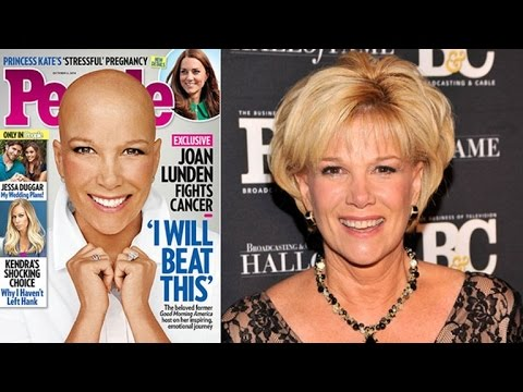 Joan Lunden Removes Wig, Shares Battle With Breast Cancer