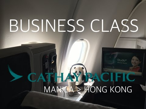 #29 [Cathay Pacific] Business Class from Manila