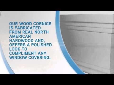 Wood Cornice - blindsonline.com