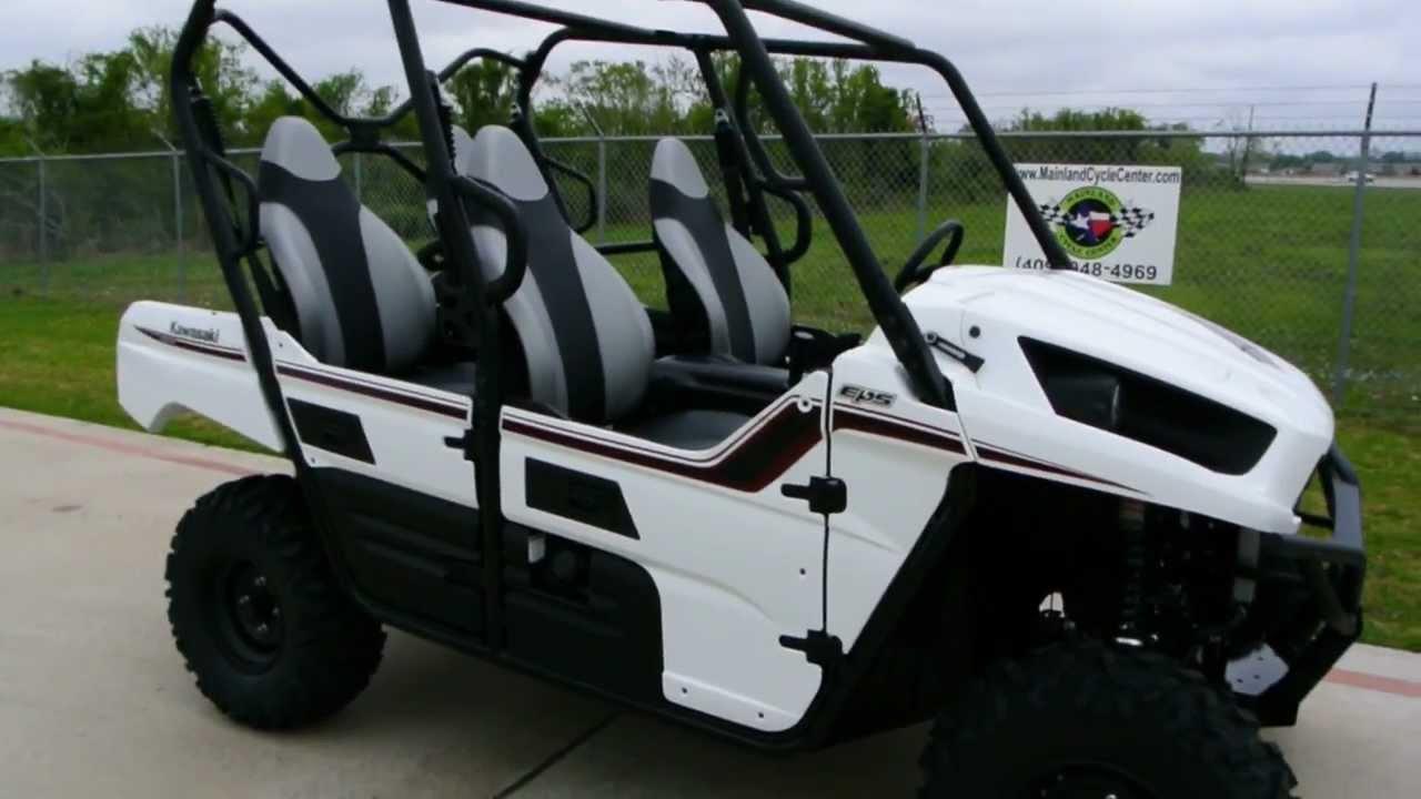 Kawasaki Teryx 4 Eps In Bright White 4 Passenger