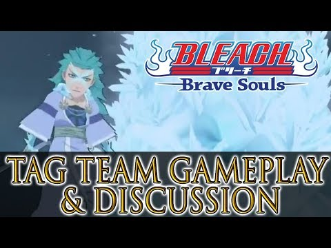 Bleach Brave Souls New Tag Team Characters Gameplay and Discussion