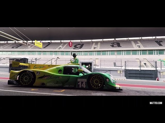Inter Europol Competition winning LMP3 race in Le Mans Series 2018 at Portimao, Portugal, 28.10.2018