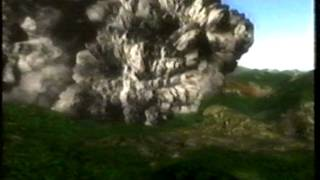 Mount St. Helens Eruption 18.05.1980 Part 2