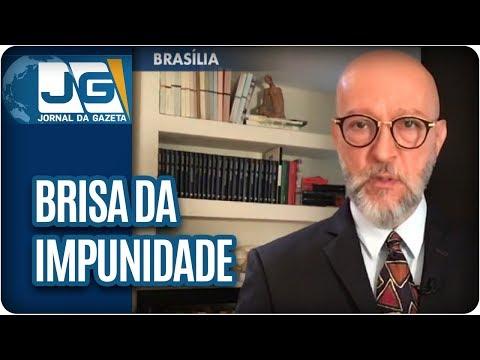 Josias de Souza/Políticos curtem brisa da impunidade