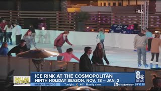 Ice skating anyone? Holiday tradition returns to Las Vegas Strip