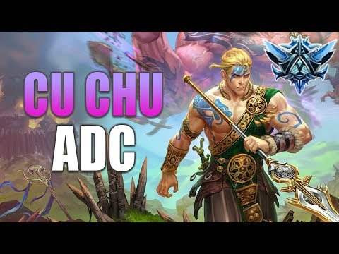SMITE: Cu Chulainn ADC Gameplay | Diamond 5 Ranked | Diving Machine!