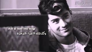 One direction _ little thing مترجمة