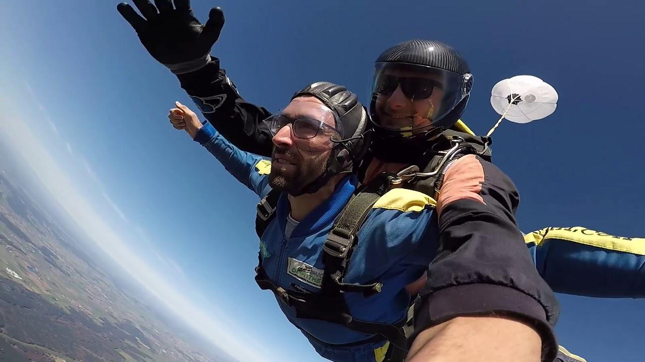 Fallschirm Tandemsprung mit Jens – Jochen Schweizer