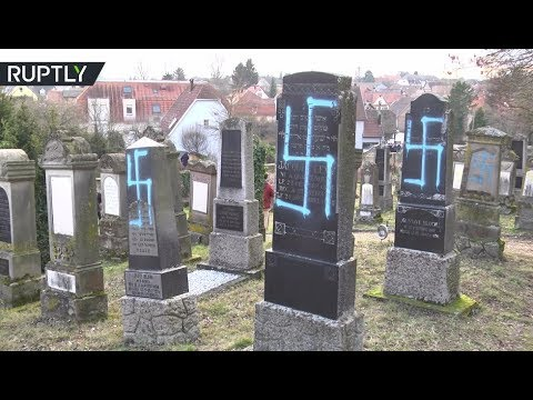 At least 80 Jewish graves vandalized in France