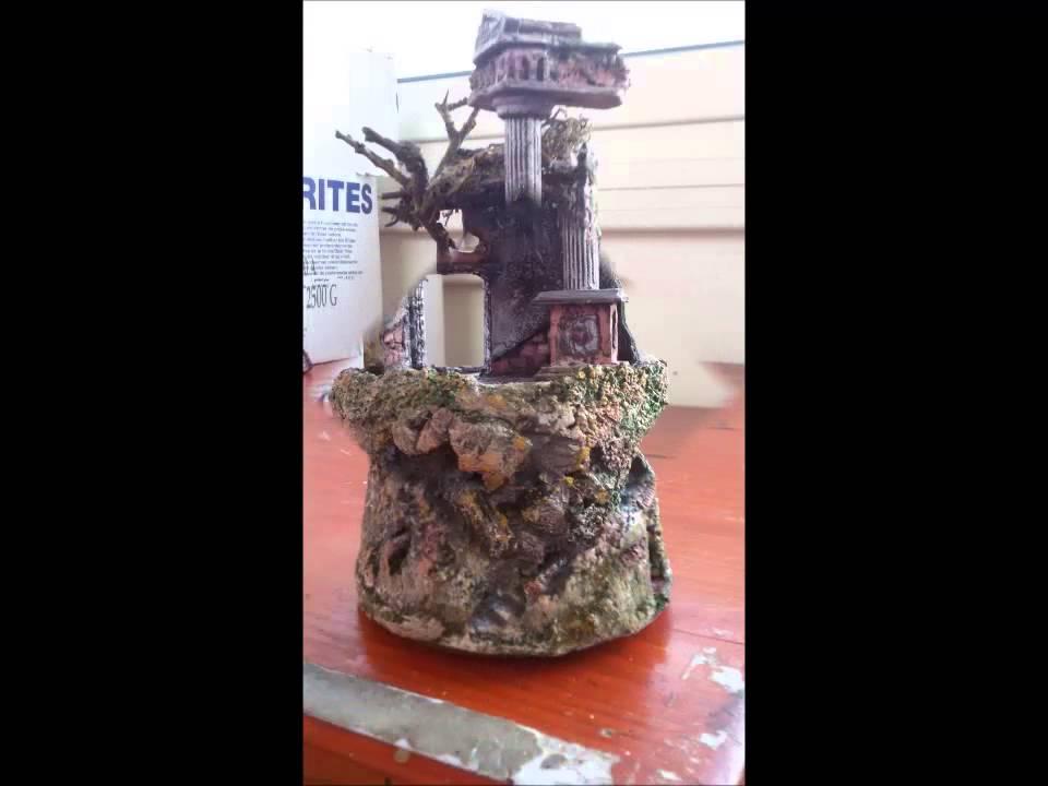 Presepe girevole illuminato in campana 12x20cm youtube for Costruire tartarughiera in vetro