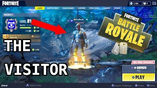 Fortnite New Blockbuster Skin (The Visitor)