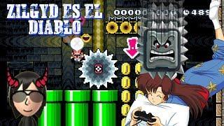 Desafío MEGA TROLL entre caballeros del kaizo (Zilgyd) | Mario maker en español
